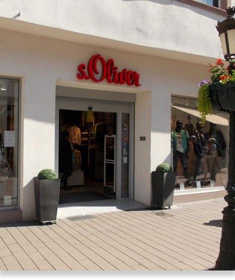 S.Oliver Haguenau - Façade boutique